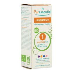 Puressentiel Lemongrass Bio Essentiële oliën 10ml