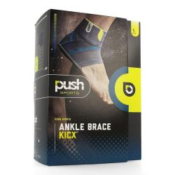 Push Sports Enkelbrace Kicx links L 1 stuks