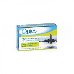 Quies protection auditive filtre anti-pression 2 pièces