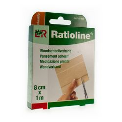 Ratioline pansement 8cmx1m