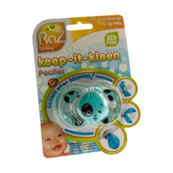 Raz baby keep-it-kleen pacifier sucette puppy 1 pièces