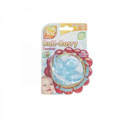 Raz baby Raz-Berry teether blue 1 stuks