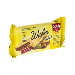 Schär Cacao Wafer Pocket Biscuits 50gr