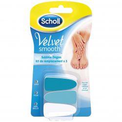 Scholl Velvet Smooth sublime kit de remplacement 3 pièces