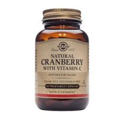 Solgar Cranberry with vitamin C Capsules 60 pièces