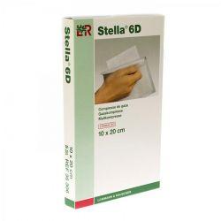 Stella 6 D compresses de gaze 10cmx20cm  5 pièces