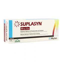 Suplasyn 20mg/2ml Solution 1 pièces