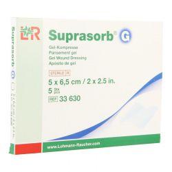 Suprasorb G 5x6,5cm 5 pièces