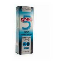 Syneo 5 Antitranspirant Man Spray 30ml