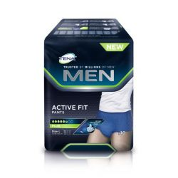 Tena Active Fit Men Pants Plus L 10 unidades