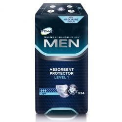 Tena for men level 1  24 pièces