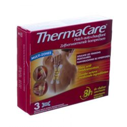 Thermacare compresses chauffantes muti-zones Patches 3 pièces