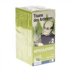 Tisane Ardennaise articulations n°2 Infusettes 20 pièces