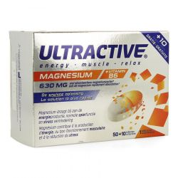 Ultractive Magnesium Tabletten 60 stuks