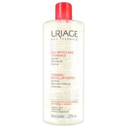 Uriage Eau micellaire thermale peau sujette aux rougeurs Solution micellaire 500ml