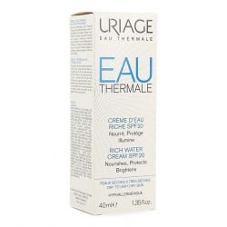 Uriage Eau thermal water cream riche SPF20 Creme 40ml