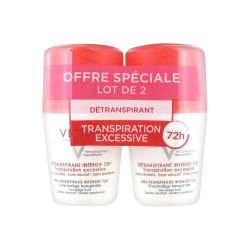 Vichy Deo Stress Resist Anti-Transpirant 72H Roll-on 2x50ml
