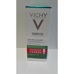 Vichy Dercos duo anti-pelliculaire cheveux normaux à gras+shampooing ultra-apaisant Shampooing 2x200ml