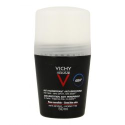 Vichy Homme déodorant anti-transpirant 48h Roll-on 50ml