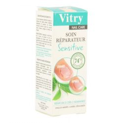 Vitry Nail Care Sensitive soin pour les ongles Vernis à ongles 10ml