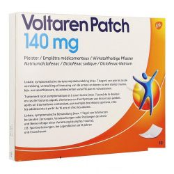 Voltaren Patch 140mg Patch 10 stuks
