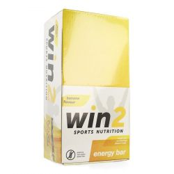 Win2 Energy Bar Banaan 35x40g Reep 35x40g