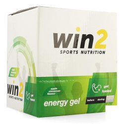 Win2 Energy gel appel-kaneel Gelstick 18x40g