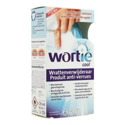Wortie Cool anti-verrues Applicateur 50ml