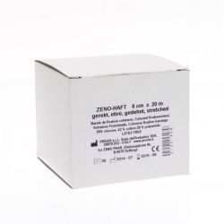 Zeno-haft bandage sans latex 8cmx20m 1 pièces