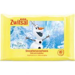 Zwitsal Kids Snoetenpoetsers Frozen Doekjes 40 stuks