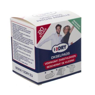 1-2 Dry Achselkissen Mittel Patch 20 Stück