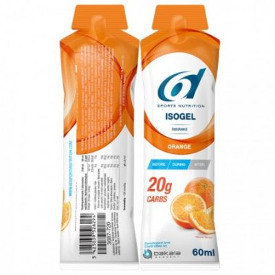 6D Isogel orange 60g Gelstick 12 stuks