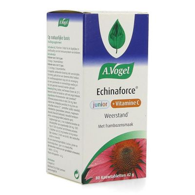 A.Vogel Echinaforce vit C junior Kauwtabletten 80 stuks