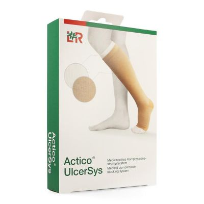 Actico Ulcersys beige-blanc L 1 pièces