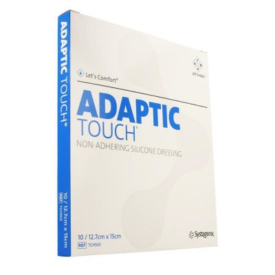 Adaptic Touch Siliconeverband 12,5x15cm 10 stuks