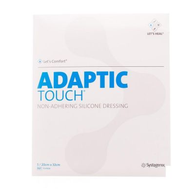 Adaptic Touch Siliconeverband 20x32cm 5 stuks