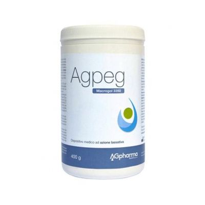 Agpeg Macrogol 3350 Polvere 400g
