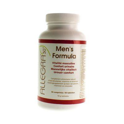Allegra Men's Formula 50+ Tabletten 90 stuks