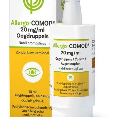 Allergo comod 20mg/ml collyre Gouttes oculaires 10ml