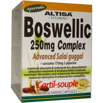 Altisa Boswellic 250mg Complex Capsules 50 pièces