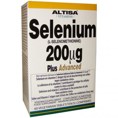 Altisa Selenium 200mcg Plus Advanced Tabletten 60 stuks