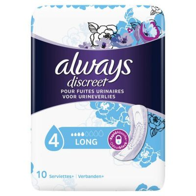 Always Discreet long 10 pièces