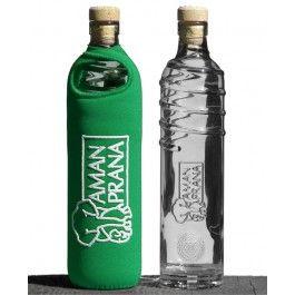 Amanprana Drinkfles Eco respect groen 1 stuks