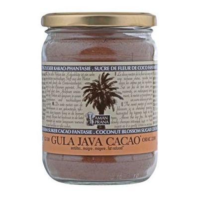 Amanprana Leistungsgetränk Gula Java Kakao Pulver 390g