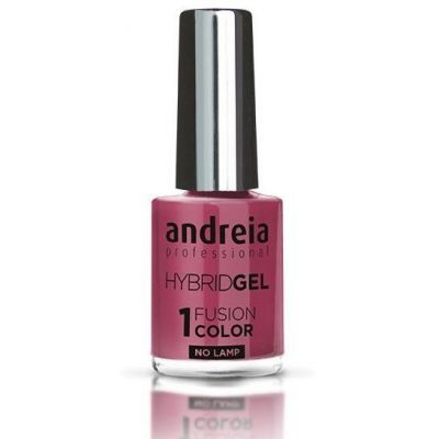 Andreia Fusion Color Gel Nagellack H19 rosa Nagellack 1 Stück