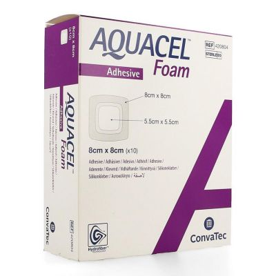 Aqaucel Foam adhesive 8x8cm 10 Stück