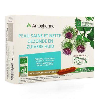 Arkofluide Gesunde und reine Haut Ampullen 20 Stück