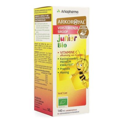 ArkoRoyal Junior versterkende siroop bio Siroop 150ml