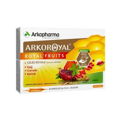 Arkoroyal Royal Fruits Ampoules 20x10ml