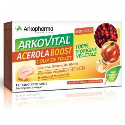 Arkovital Acerola Boost Lutschtabletten 24 Stück